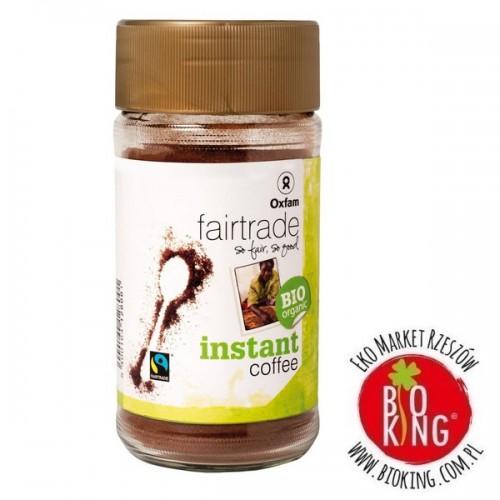 Kawa rozpuszczalna arabica/robusta bio Oxfam
