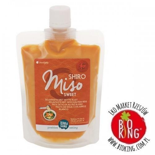 Miso shiro sweet pasta sojowa z ryżem białym bio Terra Sana