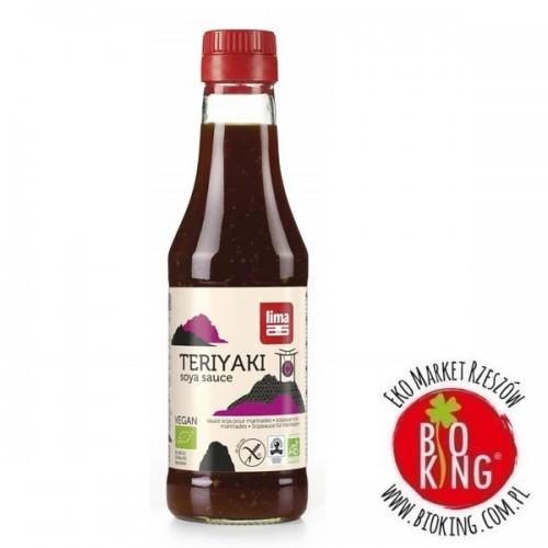 Sos sojowy słodki teriyaki bezglutenowy bio Lima