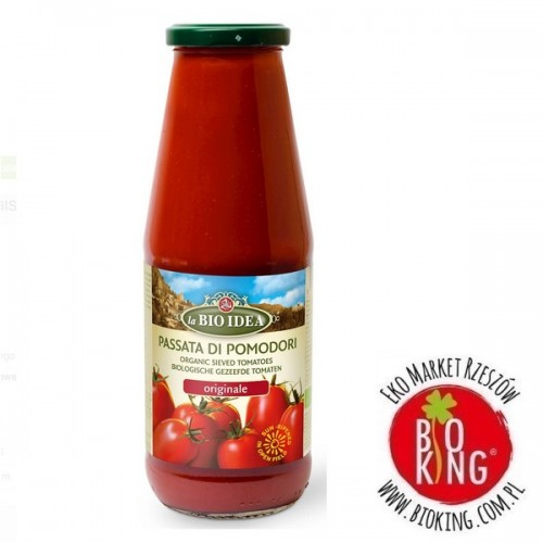 Przecier pomidorowy passata bio La Bio Idea
