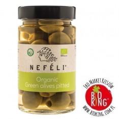 Oliwki zielone bez pestek w zalewie bio Nefeli