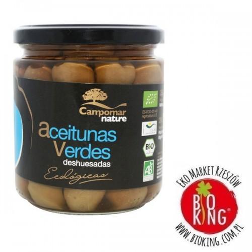 Ekologiczne oliwki zielne bez pestki Campomar Nature