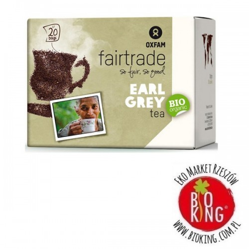 Herbata expresowa earl grey bio fair trade Oxfam