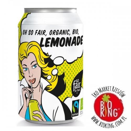 Lemoniada bio puszka fair trade Oxfam
