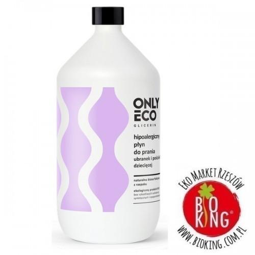 Płyn do prania ubranek i pościeli dziecięcej hypoalergiczny koncentrat Only Eco