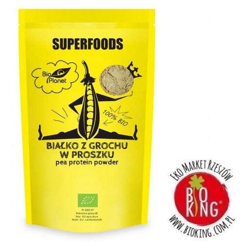 Białko z grochu w proszku bio Bio Planet Superfoods
