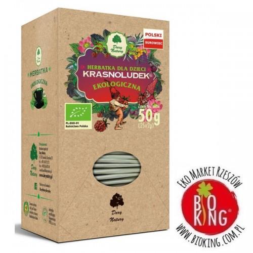 Herbatka dla dzieci Krasnoludek bio Dary Natury