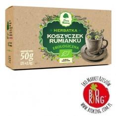 Herbatka z koszyczków rumianku bio ekspresowa Dary Natury