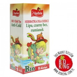 Herbatka dla dzieci lipa czarny bez rumianek bio Apotheke