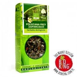 Herbatka polecana przy zaparciach bio Dary Natury