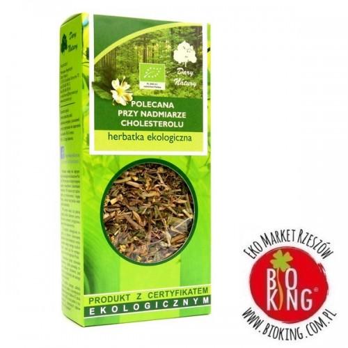 Herbata polecana przy nadmiarze cholesterolu Dary Natury