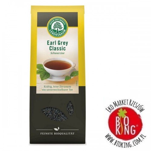 Herbata earl grey bio liściasta lub ekspresowa Lebensbaum