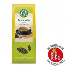 Herbata zielona gunpowder liściasta bio Lebensbaum