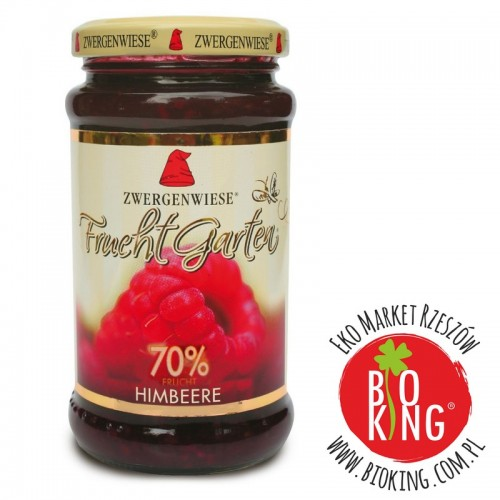 Mus malinowy (70% owoców) bez glutenu