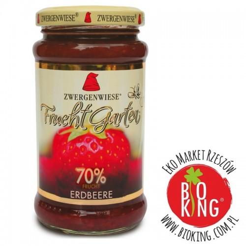 Mus truskawkowy 70% owoców bez glutenu bio Zwergenwiese