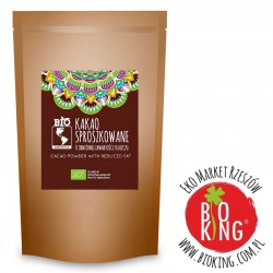 Kakao bio sproszkowane o obniżonej zawartości tłuszczu Bio Ameryka