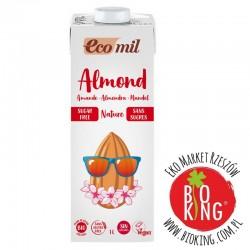 Napój migdałowy niesłodzony bio Ecomil