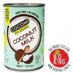 Coconut milk- napój kokosowy w puszce 17% tłuszczu bio Cocomi