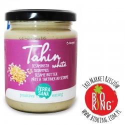 Tahina biała pasta sezamowa bio TerraSana