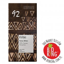 Czekolada gorzka 92% kakao bio Vivani