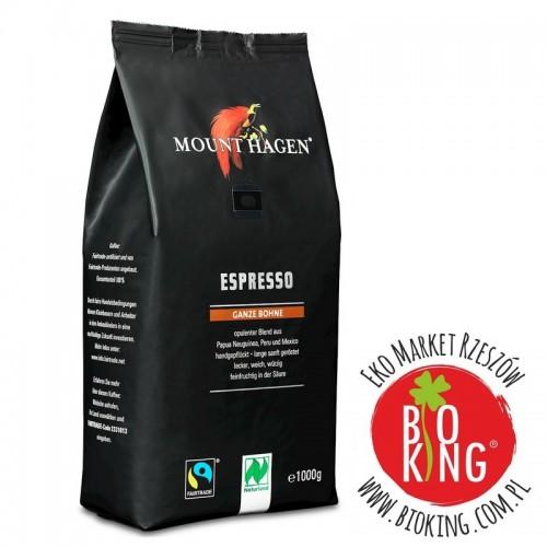 Kawa ziarnista arabica espresso fair trade bio Mount Hagen