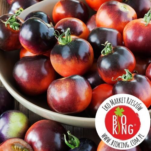 Pomidor koktajlówka Indigo Rose - rozsada