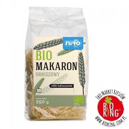 Makaron orkiszowy nitki luksusowe bio Niro