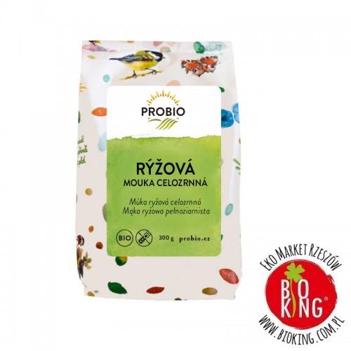 Mąka ryżowa pełnoziarnista bez glutenu bio Probio