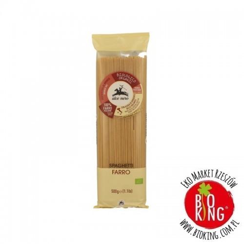Makaron spaghetti orkiszowy bio Alce Nero