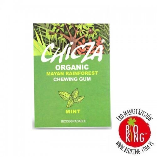 Biodegradowalna guma do żucia mięta bio ekologiczna Chicza
