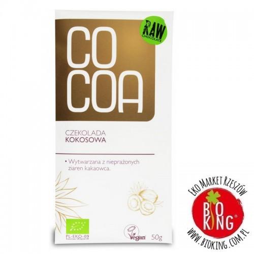 Czekolada kokosowa surowa bio Cocoa