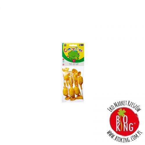 Lizaki okrągłe o smaku cytrynowym Candy Tree