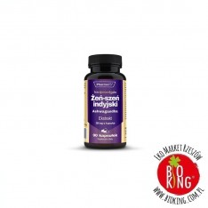 Ashwagandha żeń-szeń indyjski ekstrakt 20:1 200 mg PharmoVit
