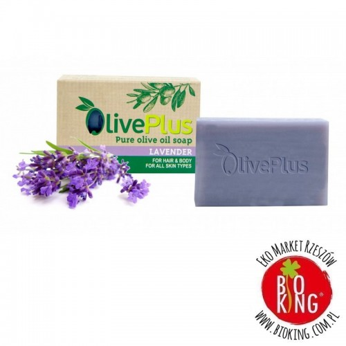 Mydło oliwkowe lawenda OlivePlus