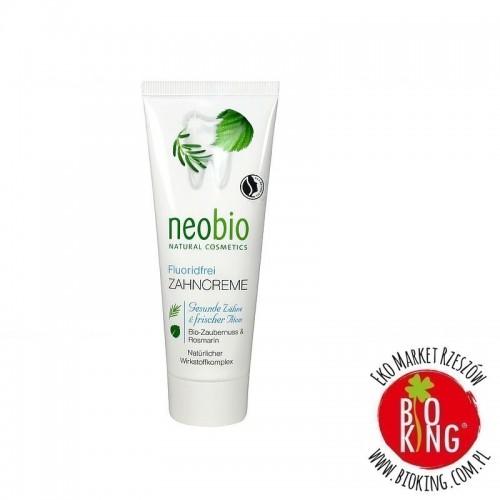 Pasta do zębów bez fluoru z ksylitolem bio Neobio