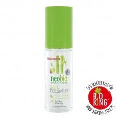 Dezodorant w sprayu oliwka bambus bio Neobio
