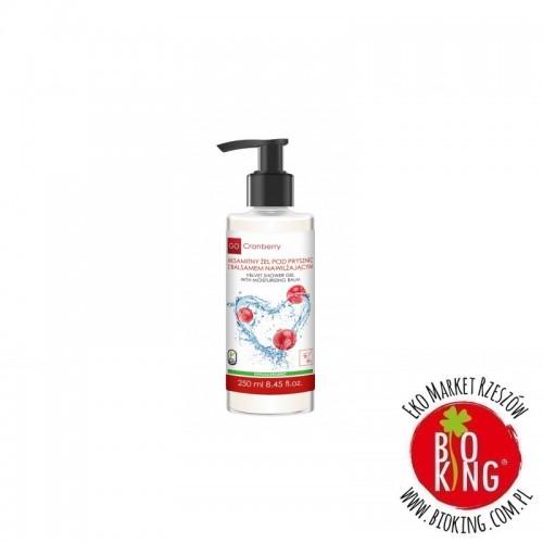 Aksamitny żel pod prysznic z balsamem nawilżającym Go Cranberry