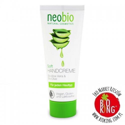 Krem do rąk z aloesem i oliwą z oliwek bio Neobio