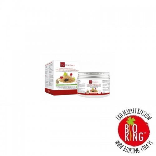 Cukrowy peeling do ciała z masłem shea i olejem żurawinowym Go Cranberry