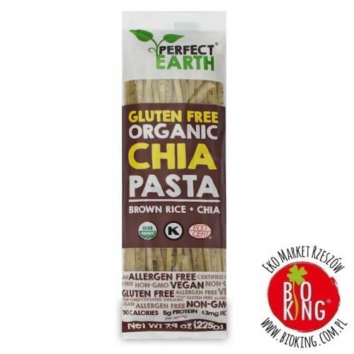 Makaron z ryżem brązowym i chia ekologiczny bezglutenowy Perfect Earth