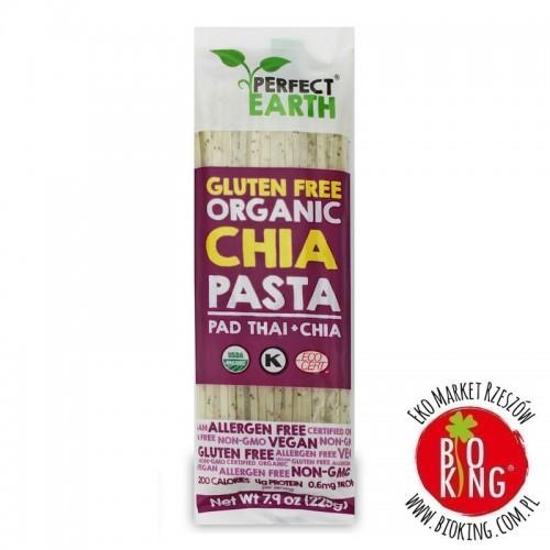 Makaron z ryżu i chia bezglutenowy ekologiczny Perfect Earth