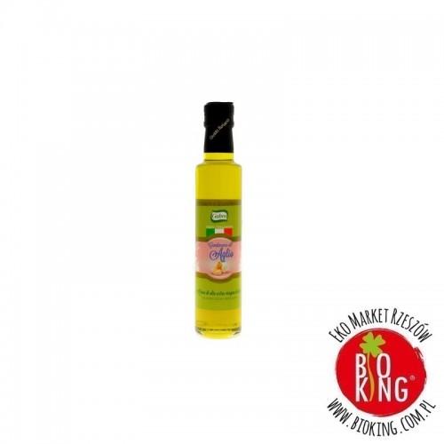 Oliwa z oliwek extra virgin o smaku czosnku Gabro