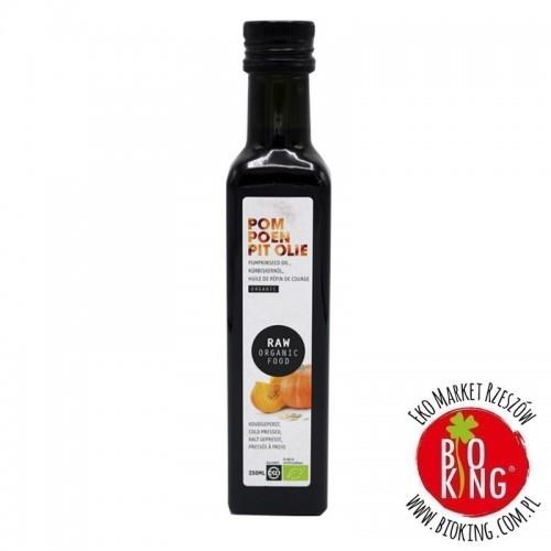 Olej z pestek dyni virgin raw bio Raw Organic Food