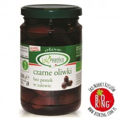 Oliwki czarne bez pestek w zalewie ekologiczne Bio Organica Italia
