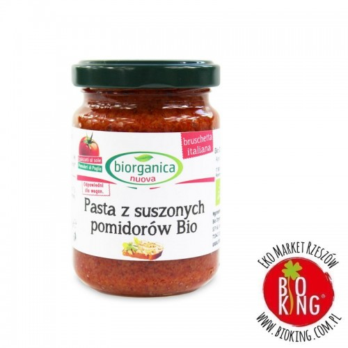 Pasta z suszonych pomidorów bio Bio Organica Italia