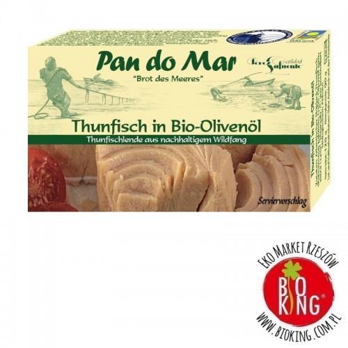 Tuńczyk w bio oliwie z oliwek Pan Do Mar