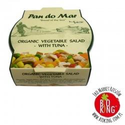 Sałatka z tuńczyka z bio warzywami Pan Do Mar