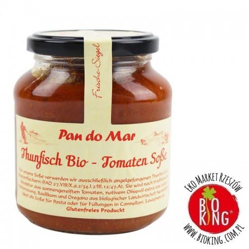 Kawałki tuńczyka w bio sosie pomidorowym Pan Do Mar