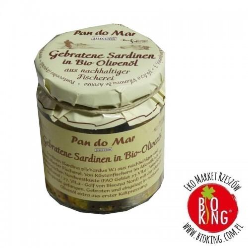 Sardynki smażone w bio oliwie z oliwek Pan Do Mar