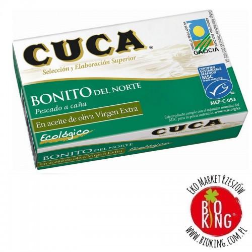 Tuńczyk bonito w bio oliwie z oliwek Cuca